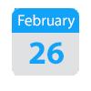 Feb 26