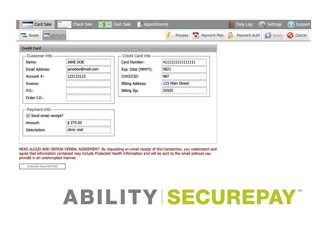 kiosk LP screenshots secure pay
